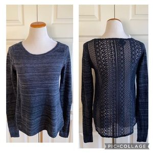 NWT Hollister Sweater with Lace Back